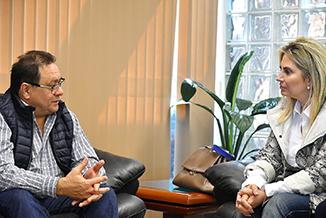 El director general Alderete se reunió con la gobernadora del Estado de Paraná